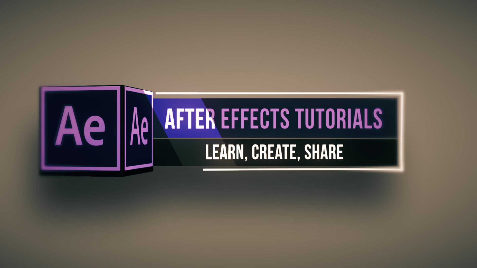 after effect lower third