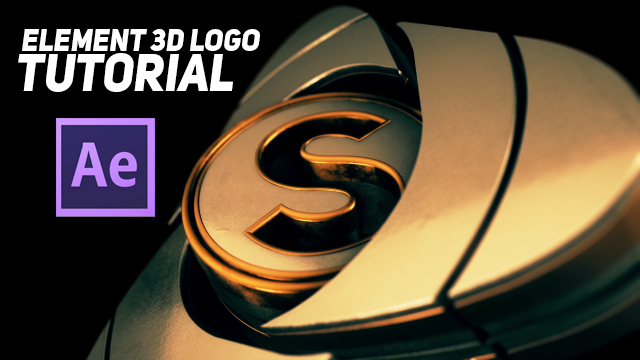 element 3d s logo after effects element 3d logo animation